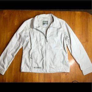 Columbia Active Outdoor Light Beige Jacket Sz M